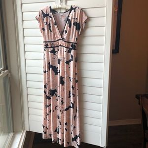 Linea Donatella Floral Dress, size M